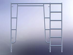 Scaffolding Walk Through Frame with 18' Ladder
